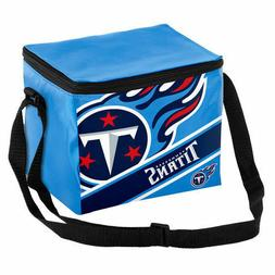 Tennessee Titans NFL  Big Logo Striped 6 pack Cooler Lunch B