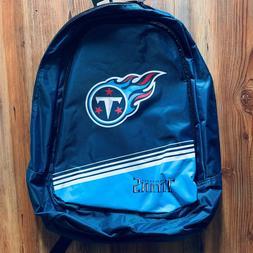 "NFL Tennessee Titans Boy Girl Kids School Backpack NWT 18"" F"