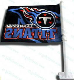 NFL Tennessee Titans Car Flag, NEW