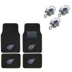 NFL Tennessee Titans Car Truck Carpet Floor Mats & Hanging A