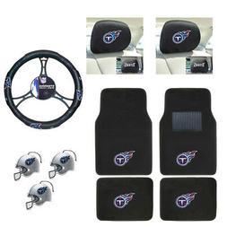 NFL Tennessee Titans Car Truck Floor Mats Steering Wheel Cov