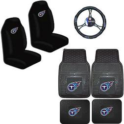 NFL Tennessee Titans Car Truck Seat Covers Floor Mats & Stee