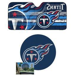 NFL Tennessee Titans Car Truck Windshield Folding SunShade &