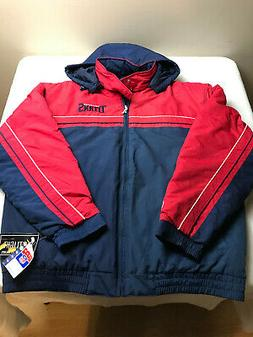 NFL Tennessee Titans Embroidered Hooded Winter Coat Mens Siz