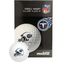 NFL Tennessee Titans Golf Ball, Pack of 6