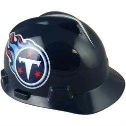 Tennessee Titans MSA NFL Hard Hat with Fas Trac Suspension