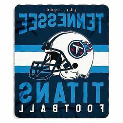 New NFL Tennessee Titans Helmet Logo Soft Fleece Throw Blank