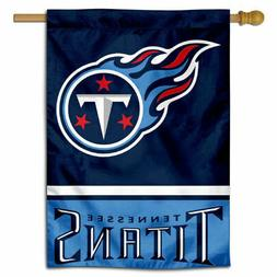 NFL Tennessee Titans House Flag and Banner
