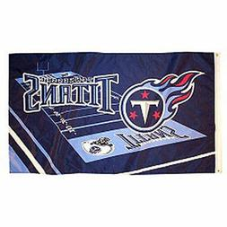 NFL Tennessee Titans Large Outdoor 3x5 Banner Flag