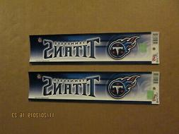 nfl tennessee titans lot of 2 circa