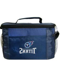 NFL Tennessee Titans Lunch Bag - Insulated Box Tote - 6-Pack
