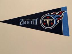 "NFL Tennessee Titans Mini Pennant Flag 4""x9"" NEW Football De"
