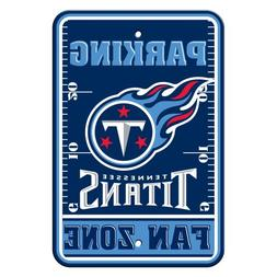 NFL Tennessee Titans Plastic Parking Signs