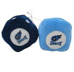 NFL Tennessee Titans Plush Fuzzy Dice Auto Accessories