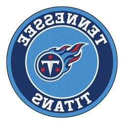 nfl tennessee titans roundel rug mat area