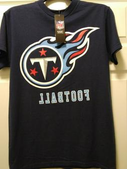 NFL Tennessee Titans Shirt Men's Small Navy