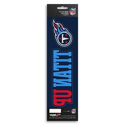 Team ProMark NFL Tennessee Titans Slogan Decal
