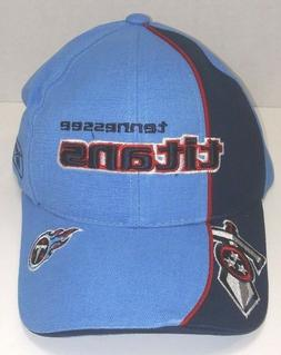 Reebok NFL Tennessee Titans Strap Back Blue Baseball Hat Cap
