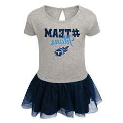 Outerstuff NFL Toddlers Tennessee Titans Short Sleeve Heathe
