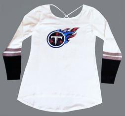 Nfl Womens Apparel * Tennessee Titans Ladies Scoop Back Team