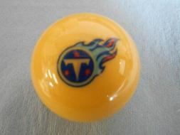 NOS New! Original Aramith NFL Tennessee Titans White Pool /