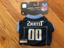 NWT Tennessee Titans Dog Jersey - NFL Pet Apparel XS
