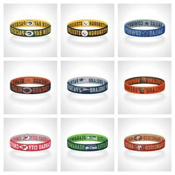 Reversible NFL Teams Bracelet Elastic Stretch Bracelet NFL W