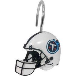 NFL 12-Piece Shower Curtain Ring Set, Titans