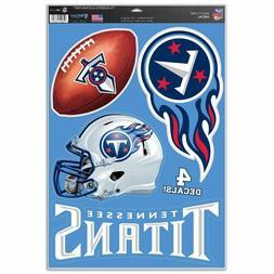 "Tennessee Titans 11"" x 17"" Multi Use Decals - Auto, Walls, W"