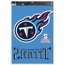 "Tennessee Titans 11"" x 17"" Multi Use Decals  - Auto,Windows,"
