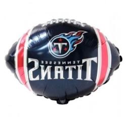"""Tennessee Titans 18"""" Balloon Birthday Party Decorations"""