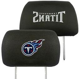 Tennessee Titans 2-Pack Auto Car Truck Embroidered Headrest