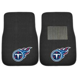 Tennessee Titans 2 Piece Embroidered Car Auto Floor Mats