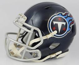Riddell Tennessee Titans 2018 Satin Navy Metallic Revolution