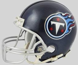 Riddell Tennessee Titans 2018 Satin Navy Metallic Mini Helme