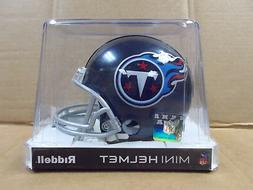 Tennessee Titans 2018 Titan Blue NFL Team Mini Football Helm