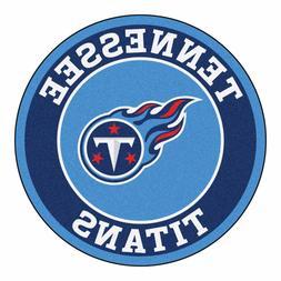 "Tennessee Titans 27"" Roundel Area Rug Floor Mat"