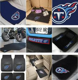 Tennessee Titans Auto & Motorcycle Accessories Car Mats & Mo