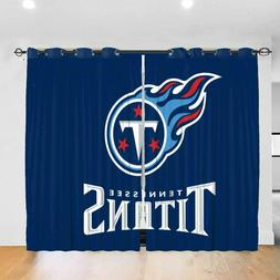 Tennessee Titans Blackout Curtain Panel Thermal Insulated Wi