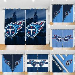 Tennessee Titans Blackout Window Curtains 2PCS Living Room T