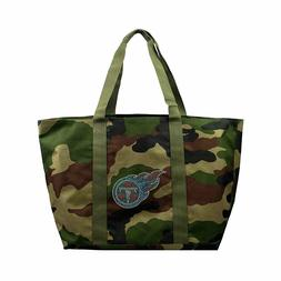 Tennessee Titans Camo Tote Bag Large Football