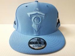 Tennessee Titans Cap New Era 9Fifty Snapback 2018 Color Rush