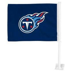 Tennessee Titans Car Flag 12 x 15 Double Sided All Pro Desig