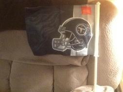 Tennessee Titans Car Window Flag NFL National Football Leagu