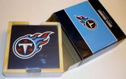 tennessee titans ceramic coasters set of 4