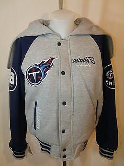 Tennessee Titans Cheerleader Style Jacket Coat With Zip-Up H