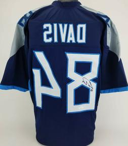 Tennessee Titans Corey Davis Autographed replica Jersey with