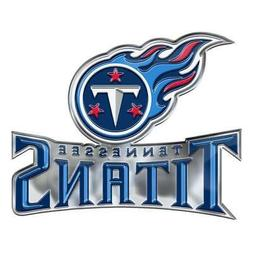Tennessee Titans Die-Cut Alternate Metal Auto Emblem  Car De