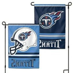 tennessee titans double sided garden flag 12