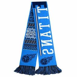 """Tennessee Titans Football Team NFL 60"""" Reversible UGLY Knit"""